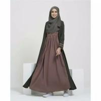 Gamis wanita syari murah dress muslimah casual jubah pesta terlaris