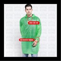 Baju APD Plastik Lengan Panjang Berkaret - Jas Hujan Plastik APD - APD