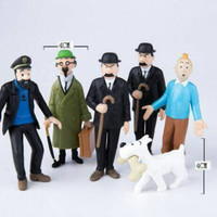Action Figure Tintin / Tin tin isi 6