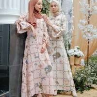 billa longdress wanita/gamis ethnic/gamis pastel cantik/baju lebaran