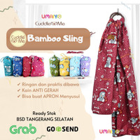 (Recommended) Cuddle me - Bamboo Sling - Gendongan bayi