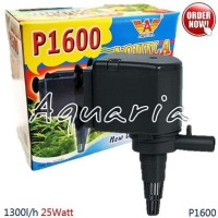 Aquila P-1600 Pompa Celup Aquarium Submersible Water Pump