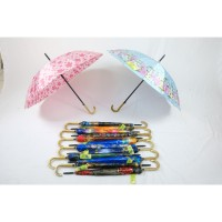 Payung Standar 16 Jari Saten Kembang Lapis Susun OTOMATIS - P22069