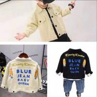 jaket jeans import anak laki-laki
