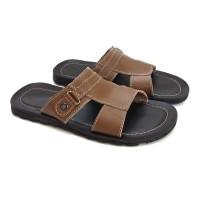 Sandal pria kulit asli termurah sandal kulit model selop kulit asli
