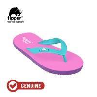 Fipper Junior / Sandal Jepit Anak / Pink - Purple - Turquise
