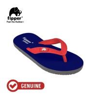 Fipper Junior / Sandal Jepit Anak / Blue - Grey - Red