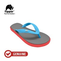 Fipper Kids / Sandal Jepit Anak / Grey - Red - Blue Sky