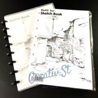 REFILL Sketchbook Lyra A5 Buku Gambar
