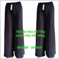 Celana Kulot Wanita/spandex balon/ Tebal, adem, nyaman dipakai