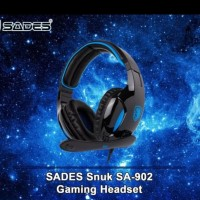 Headset Gaming Sades Snuk SA-902