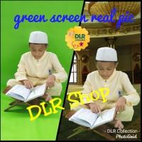 green screen tebal 100 gram background foto video