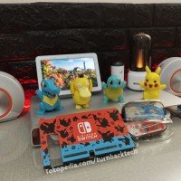 Fit Dock Pikachu Pokemon Nintendo Switch Mika Case / Casing red blue