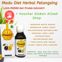 [Free Ongkir] Obat Diet Pelangsing Madu Pluma6 Herbal Alami Ampuh