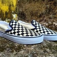 Vans Slipon Checkerboard BW (Global)