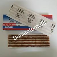 Tambalan Ban Tubeless Merk Top Patch Rubber USA Per Lembar Isi 5 Pcs