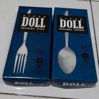 SENDOK Makan / GARPU Makan SUPER DOLL Stainless Stell