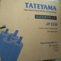 """1 Meter Pipa AC Tateyama 1/4 + 1/2 (1/4"""" + 1/2"""") 1.5PK 2PK"""