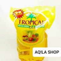 minyak goreng kelapa sawit tropical 2x pouch 2 ltr ready murah meriah