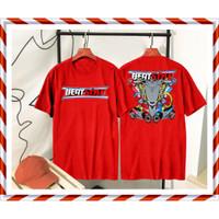 Baju Kaos Motor Honda Beat Style Thailook Merah Variasi Racing