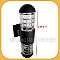 Lampu Dinding / Lampu taman / Lampu Minimalis 2 ARAH BULAT OVAL