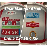 Lem Kayu Crona 234 Solvent Resistant 4kg Ready Stocks