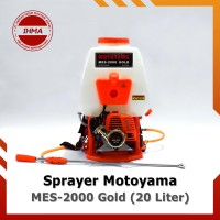 Power Sprayer Motoyama MES-2000 Gold [20 Liter] – Mesin Semprot Hama