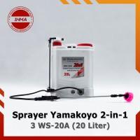 Sprayer Elektrik Yamakoyo 3WS-20A [20 Liter] – Alat Semprot Hama