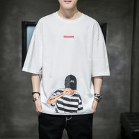 XXMAKE XXC118 Baju Original T-Shirt baju polo baju pria polos koko - Putih, L