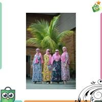 TerlarisORI By Aletha Flower Midi Dress Busui