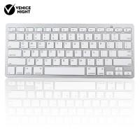 Keyboard Wireless Bluetooth Ultra Slim untuk Apple iPad / PC