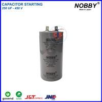 Kapasitor - Capacitor Starting 250 Uf - 450V - Part Kompresor Teknik