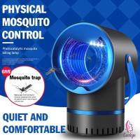 USB Electric Mosquito Killer Lamp LED Light Bug Zapper UV Insect
