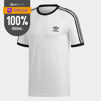 Pakaian Sneakers Adidas Originals 3-Stripes Tee White Original CW1203