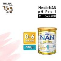 Makanan Bayi NAN pH Pro 1 800gr - PUSAT SUSU ONLINE 100% ASLI