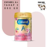 Makanan Bayi Enfamil 2 A+ 800gr - PUSAT SUSU ONLINE 100% ASLI