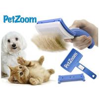 Pet Zoom Self Cleaning Grooming Brush / Sisir Hewan PetZoom