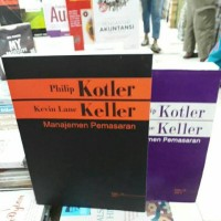 PAKET 2 BUKU Manajemen Pemasaran Edisi 13 Jilid 1-2 - Philip Kotler Da