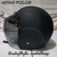 Helm BOGO Retro Klasik Full Kulit Berkualitas