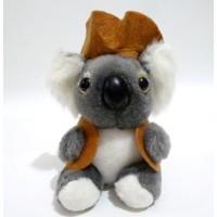 Boneka Koala Original I Love AUS Australia Doll Cowboy Koala