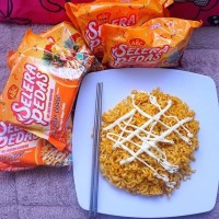 ABC Selera Pedas Spicy Mayo Cheese Mie Instant [85 g]
