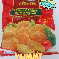 Fiesta cheesy chicken with broccoli fiesta naget