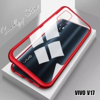 VIVO V17 MAGNETIC SINGLE GLASS CASE VIVO V17 CASING VIVO V17