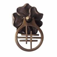 "6-1/2 "" Handle Pintu Rumah Villa / Ring Pull - HRP2132 Cherry Blossom"