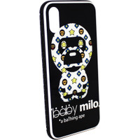 VIP Case Back Glass Designer iPhone XS Max Glossy Iphonexs max Casing - Baby Milo