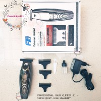 PROFESSIONAL ELECTRIC HAIR CLIPPER F1 - CUKURAN RAMBUT - HIGH QUALITY
