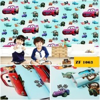 Wallpaper Sticker Dinding Wallsticker 3D 10 M MINIMALIS CAR TAYO