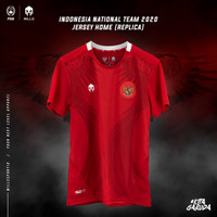 JERSEY REPLICA TIMNAS HOME INDONESIA 2020 READY STOCK