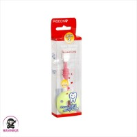 PIGEON Baby Training Toothbrush Lesson 2 Light Pink