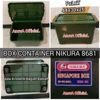 BOX CONTAINER NIKURA. 8681. HIJAU. SETARA SHINPO CB 30